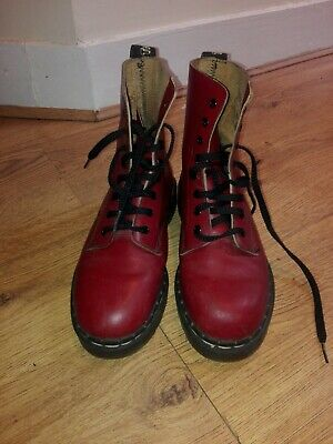 Oxblood Red Tredair Doc Martens Boots Dr Martins Size 6 Uk 39 Eu Made In England