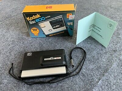 Kodak Disc 4100 Camera - Vintage Used With Box