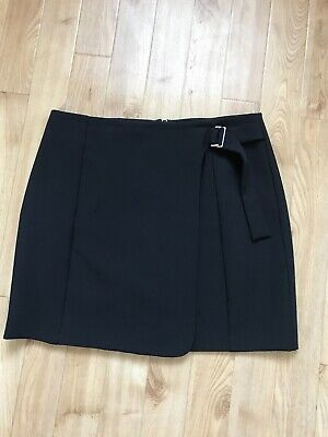 Ladies Older girls smart black skirt fully lined from New Look size 14