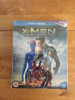 X-Men Days of Future Past Exclusive Bluray Hardback Book Pack Brand New Sealed