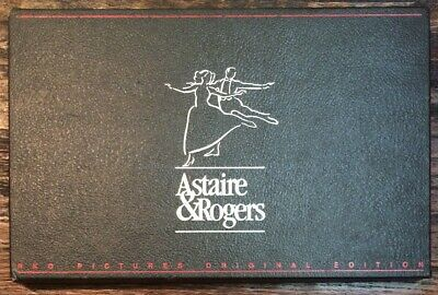 THE FILMS OF Fred Astaire + Ginger Rogers 1935-37 (3 VHS Set + Photos) LIKE NEW