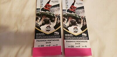 2019 Indianapolis Indy 500  2 PADDOCK PENTHOUSE FREE SHIPPING