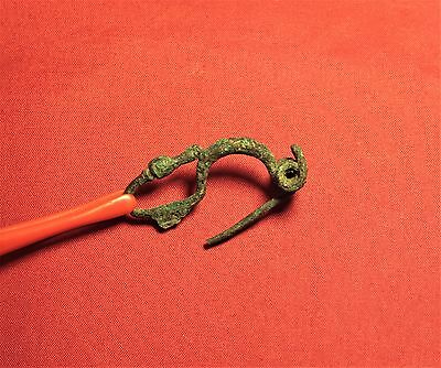 Ancient Celtic Fibula or Brooch - La Téne
