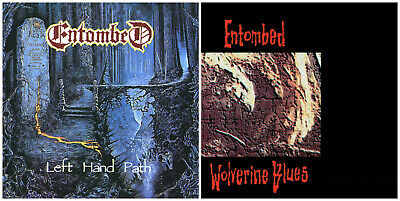 ENTOMBED : Left Hand Path CD + Wolverine Blues CD // pack 2CDs {Earache}