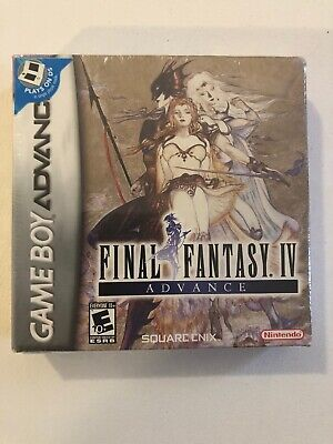 Final Fantasy IV Advance (Nintendo Game Boy Advance, 2005) New H Seam Authentic
