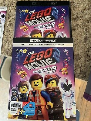 The Lego Movie 2 The Second Part (Blu-ray and DVD, 2019) 4k Art No 4K Disc Dig