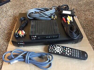 Dish Network Hopper With Sling & Joey *Works Great* (W/Remote, HDMI & AV cable)