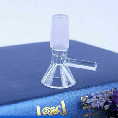 10 Pieces Hookah Accessories Clear Glass Bowl 14mm Male Joint for Bongs