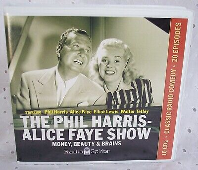 The Phil Harris Alice Faye Show - Radio Spirits 10 Cds Sets Audio Books