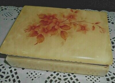 VIntage Alabaster Jewellry Box Italy?