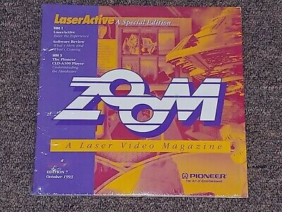 PIONEER Zoom 7 A Laser Video Magazine  LaserActive A Special Edition