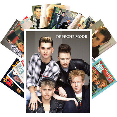 Postcards Pack [24 cards] Depeche Mode Electronic Music Posters Vintage CC1222