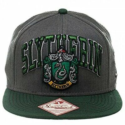 Harry Potter : SLYTHERIN HOUSE NAME & CREST CAP from BioWorld
