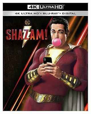 Shazam! 4K Ultra HD + Blu-Ray + Digital