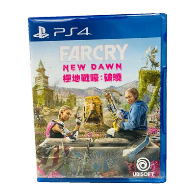 Far Cry New Dawn PlayStation PS4 2019 Chinese English Factory Sealed