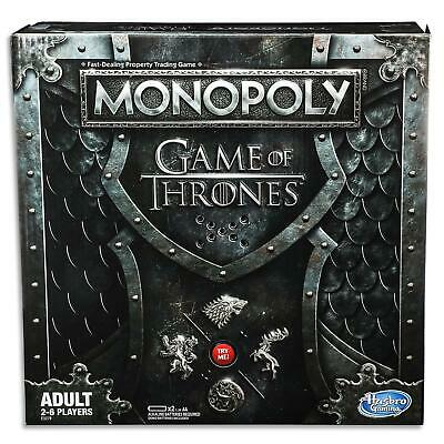 Monopoly Board Game - Game Of Thrones - Winterfell, Westeros Hasbro Gaming Toys