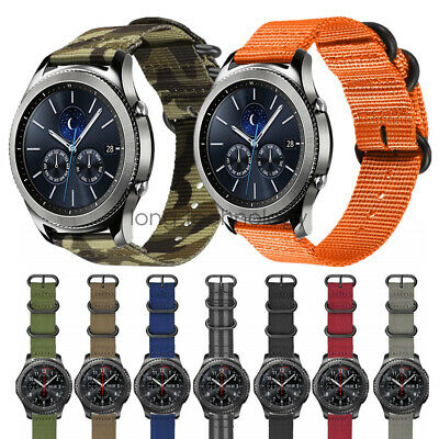 22mm Nylon Armband Sportarmband Für Samsung Gear S3 Classic Frontier Watch Band