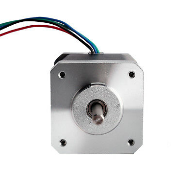 Nema17 Stepper Motor 17HS8403NB Dual Shaft 4-Lead 2.5A 70oz-in DE Free Ship