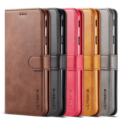 Genuine Leather Flip Wallet Case Cover For Samsung A10/20/30/40/50/60/70 M10/20