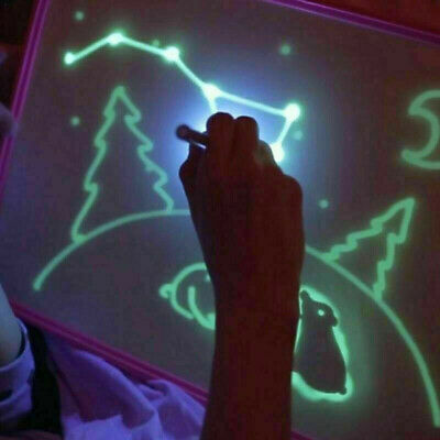 Magic Draw With Light-Fun Set Funny Kids Developing Toy Drawing Board