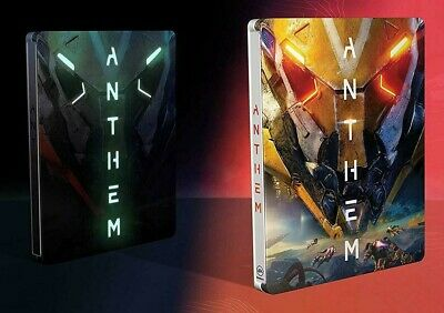 Exclusive Limited Flurescent ANTHEM STEELBOOK CASE HÜLLE für XBOX ONE / PS4 / PC