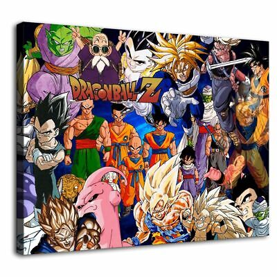 Dragon Ball Picture HD Canvas Prints Painting Home Room Decor Wall art wallpaper