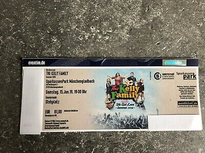 kelly family tickets 15.6.19 Mönchengladbach