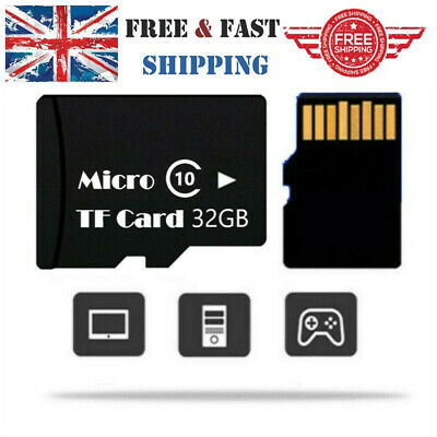 32GB 80MB/S Micro TF Memory Card SD Card HC Class 10 for Mobile Phones Wholesale