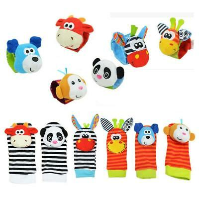 Cartoon Baby Toys 0-12 Months Sock Soft Animal Rattles Children Infant Sell