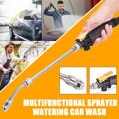 High Pressure Water Jet 0.8mpa Power Car Washer Wand Hose Nozzle Attachment