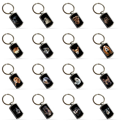 Dog Keyring, Dog Owner Gift, 80+ Breeds to Choose from.