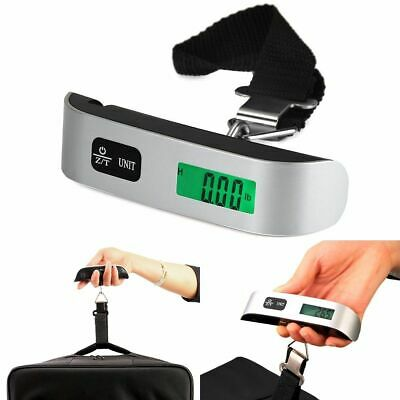 Portable Travel Tare 110lb 50kg Hanging Digital Suitcase Luggage Scale Weight