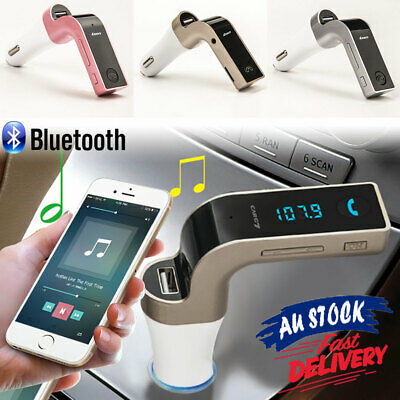 FM MP3 Player Bluetooth Transmitter Car Kit Handsfree Charger USB