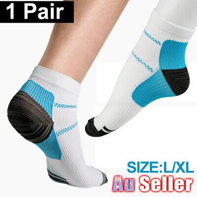 Fasciitis Ankle Sox Heel Plantar Compression Socks Sleeves Foot Pain Relief