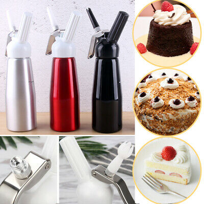 500ml CREAM WHIPPER Whip Coffee Dessert Butter Dispenser CHARGERS FOAM WHIPPED T