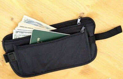 Hot Travel Pouch Hidden Pocket Compact Money Security Waist Belt Bag