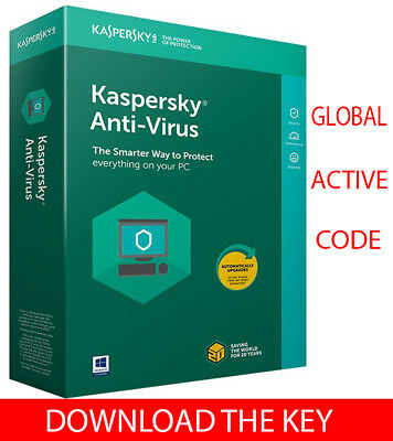 Kaspersky ANTI-VIRUS Security 2019 For Windows 3 PC/1 Year / Global Key / 12.25$