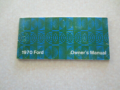 1970 Ford Owner's manual - USA