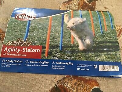 Pet Agility Set Training Play Kit Dog Jump Hoop Poles Tunnel Obedience Equipment