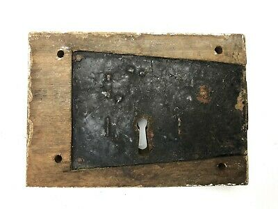 Antique Wooden Door Lock - Old Collectable - From A Barn