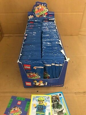 Wholesale Job Lot Approx 300 Lego Incredible Inventions Card Packs Of 4 - Nt Plt