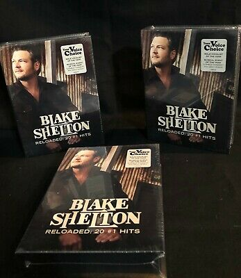 NEW Blake Shelton CD Promo Set.,  2 Can Koozies, CD-Reloaded: 20 #1 Hits