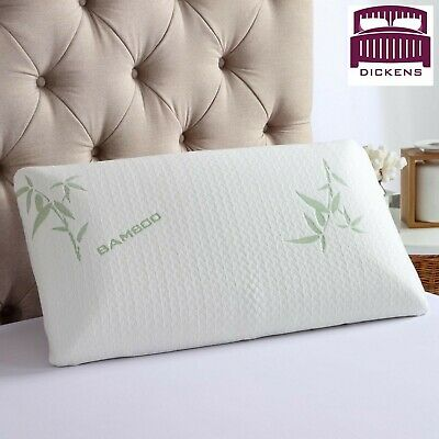 Dickens Bamboo Memory Foam Pillow, Anti-Bacterial Premium Support Pillow