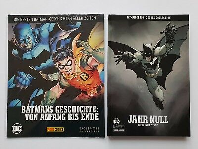 DC BATMAN Graphic Novel Collection  JAHR NULL  Die Dunkle Stadt  ungel,TOP Zust.
