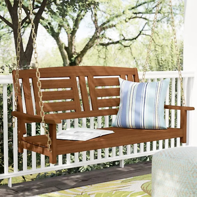 Surprising Hanging Swing Bench Outdoor Patio Furniture 2 Seater Seat Alphanode Cool Chair Designs And Ideas Alphanodeonline