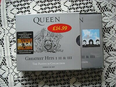 Queen - Greatest Hits 1,2 & 3. The Platinum Collection Three CD Set