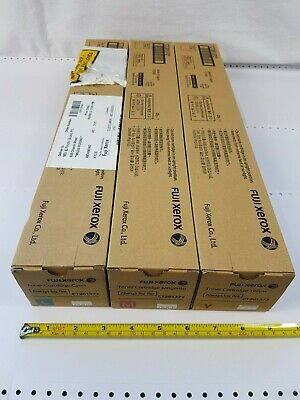 Fuji Xerox Toner Qty 3 - CT201371 Cyan, CT201372 Magenta, CT201373 Yellow - New