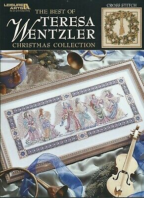 The Best Of Teresa Wentzler Christmas Collection, new, 2004 cross stitch book