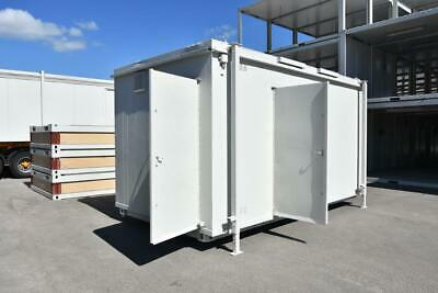 16' x 9' 3+1 Anti- Vandal Toilet Block - Site W/C, works w.c.