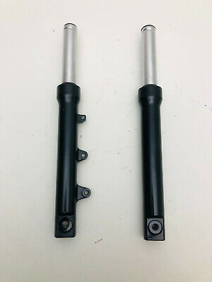 pair front forks honda sh 125 150 model from year 2011 to 2013 BLACK new